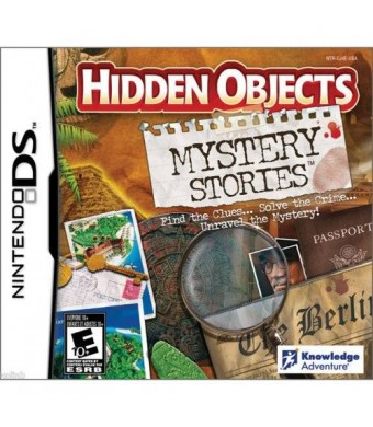 Knowledge Adventure Hidden Objects: Mystery Stories (Nintendo DS)