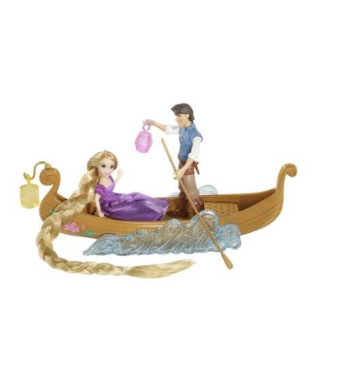 Mattel Disney Tangled Featuring Rapunzel Boat Ride Playset