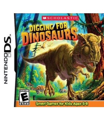 Scholastic Games Digging for Dinosaurs - Nintendo DS