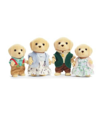 Calico Critters Yellow Lab Family