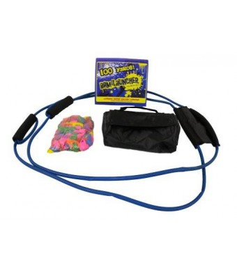 Bam Launcher 100 Yard 3 Person Water Balloon Launcher *Free Balloons and Carrying Case*