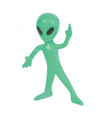 Rhode Island Novelty Bendable Alien Toys (1 dz)