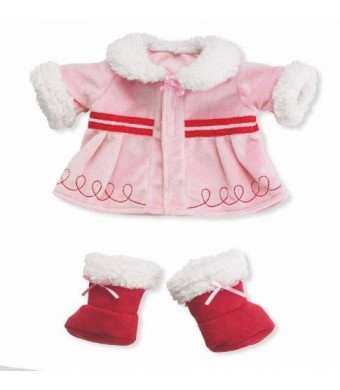 Manhattan Toy Baby Stella Warm Wishes Winter Coat Baby Doll Clothing