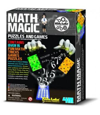 4M Math Magic Puzzles and Games