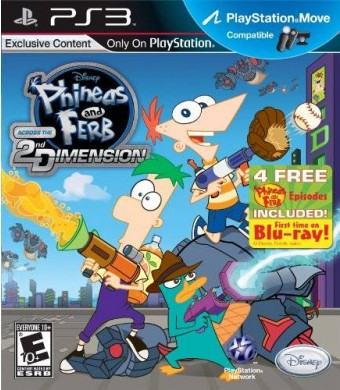 Disney Interactive Studios Phineas and Ferb: Across the 2nd Dimension - Playstation 3