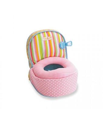 Manhattan Toy Baby Stella Playtime Potty Chair Accessory for Nurturing Dolls