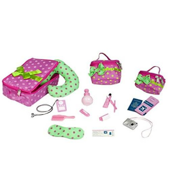 "Our Generation Luggage And Travel Set For 18"" Dolls"