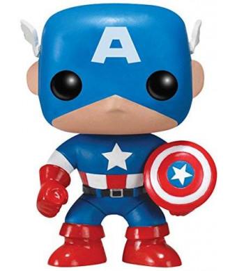 FunKo POP Marvel : Captain America Toy Figure