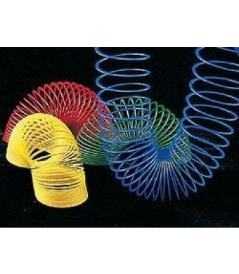 Fun Express Plastic Magic Spring Compare To Slinky and Save Novelty (1 Dozen), Assorted Colors