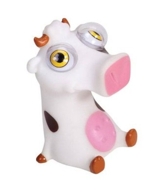 Warm Fuzzy Toys Poppin Peepers Cow