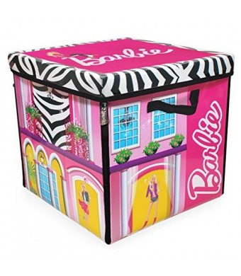 Neat-Oh! Barbie ZipBin 40 Doll Dream House Toy Box and Playmat