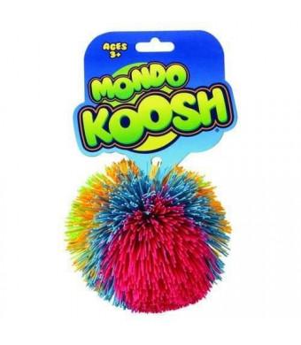 "Basic Fun Koosh Ball - Mondo Edition - New Larger 4"" Size (Colors May Vary)"