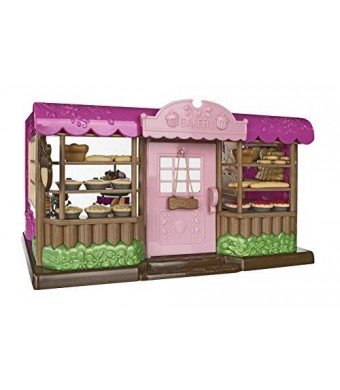 Lil Woodzeez Tickle Your Taste Buds Bakery Set – Can Be Used With All Families and Environments – Ages 3+