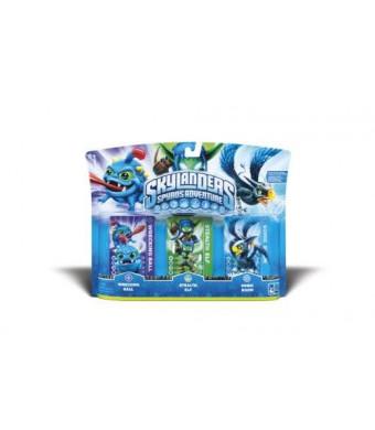 Activision Skylanders Spyro's Adventure Triple Character Pack (Wrecking Ball, Stealth Elf, Sonic Boom)