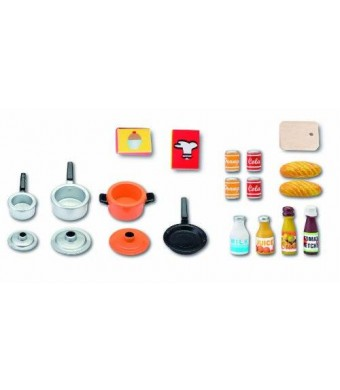 Lundby Smaland Dollhouse Accessories, Kitchen, Cooking Pots Pans and Utensils