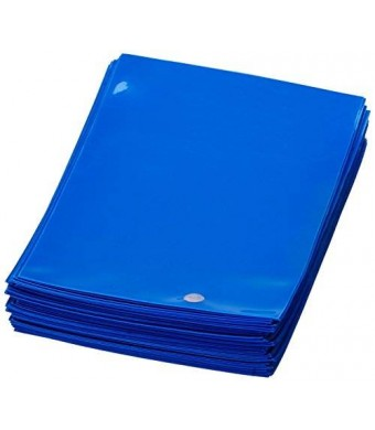 Ultra Pro Deck Protector, Standard, Blue, 100 Count