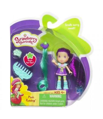 Hasbro, Strawberry Shortcake, Mini Doll, Plum Pudding, 3 Inches