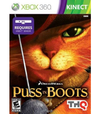 THQ Puss in Boots (Kinect) - Xbox 360