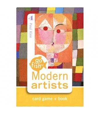 Birdcage Press Go Fish for Modern Artists Card Game