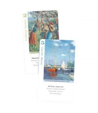 Birdcage Press Impressionist Artists, Go Fish for Art cards and book