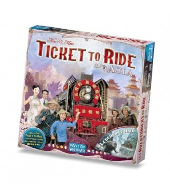 Days of Wonder Ticket To Ride Asia: Map Collection - Volume 1