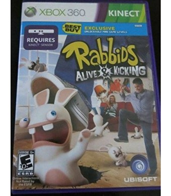 Microsoft Best Buy Rabbids Alive and Kicking Kinect