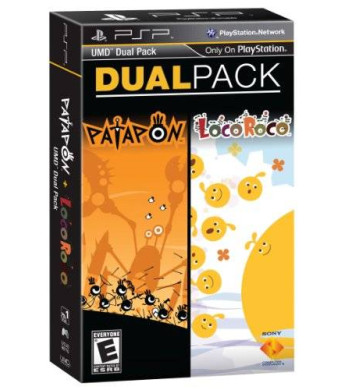 Sony PSP Dual Pack- Patapon and LocoRoco