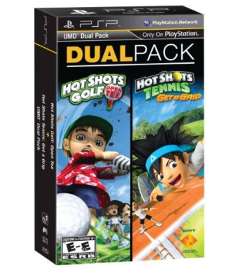 Sony PSP Dual Pack - Hot Shots Golf: Open Tee and Hot Shots Tennis: Get a Grip
