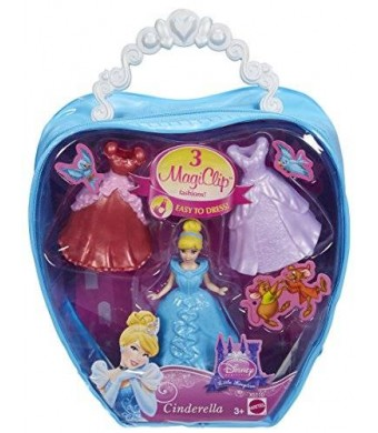Mattel Disney Princess Fairytale MagiClip Cinderella Fashion Bag