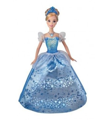 Mattel Disney Princess Swirling Lights Cinderella Doll