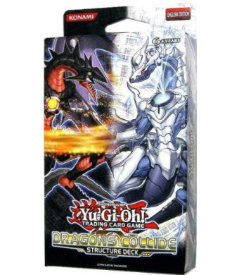 Konami Yugioh Structure Deck Dragons Collide SDDC Sealed