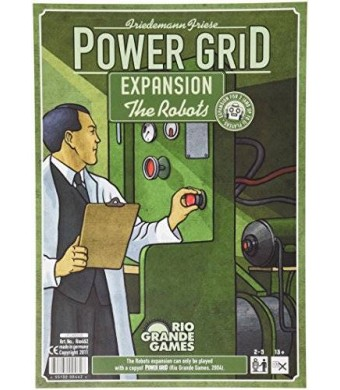 Rio Grande Games Power Grid the Robots