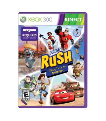 Microsoft Kinect Rush: A Disney Pixar Adventure - Xbox 360