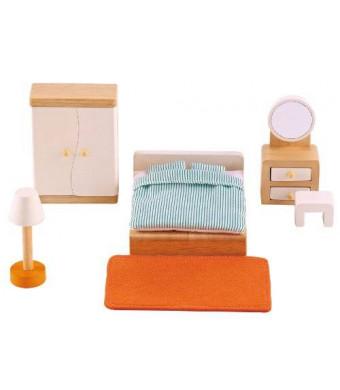 Hape - Happy Family Doll House - Furniture - Master Bedroom