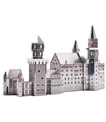 Fascinations Metal Earth 3D Laser Cut Model Neuschwanstein Castle