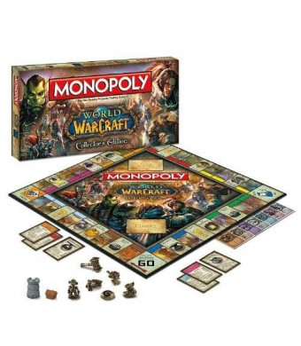 USAopoly Monopoly: World of Warcraft Collector's Edition