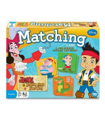 Wonder Forge Jake and the Never Land Pirates Matching Game