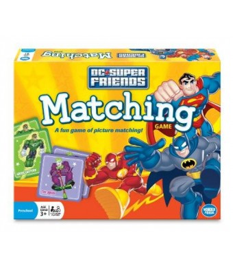 Wonder Forge Super Friends Matching Game