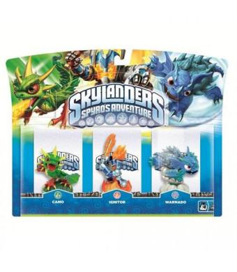 Activision Skylanders Spyro's Adventure Triple Character Pack (Ignitor, Warnado, Camo)