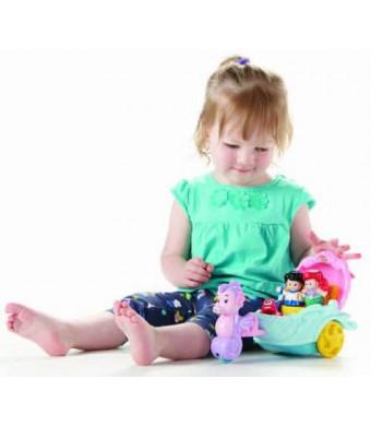 Fisher-Price Little People Disney Princess: Ariel's Coach