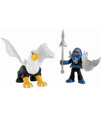 Fisher-Price Imaginext Knight and Phoenix