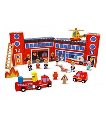 Janod Story Box Firefighters