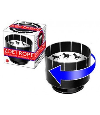 Eye Think, Inc. Zoetrope Animation Toy: Classic Victorian Motion Illusion Toy Replica