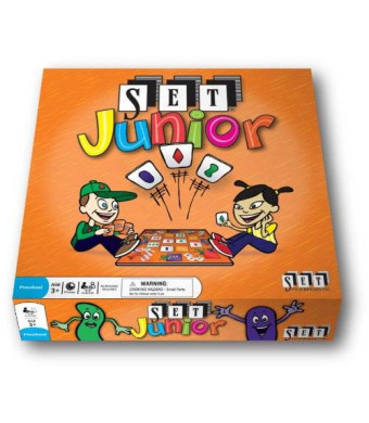 SET Enterprises SET Junior: Your very first SET game!
