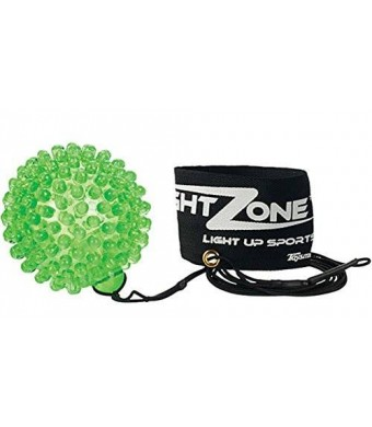 Toysmith NightZone Light up Sports Flash Back Rebound Ball (Sold Individually - Colors Vary)