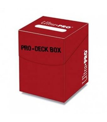 Ultra Pro 100+ Pro Red Deck Box