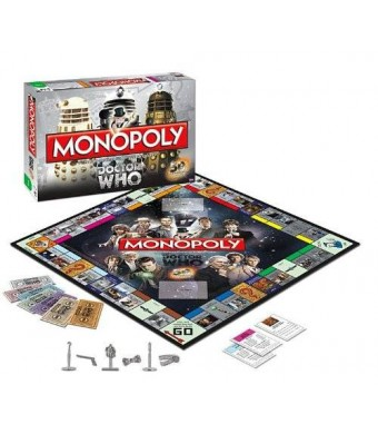 USAopoly Monopoly: Dr. Who Edition 50th Anniversary Collector's Edition