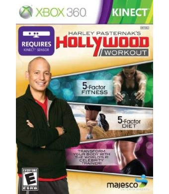 Majesco Harley Pasternak's Hollywood Workout (Kinect) - Xbox 360