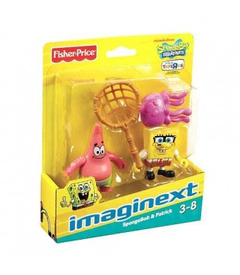 Fisher-Price Imaginext, SpongeBob Squarepants, Exclusive Figures, SpongeBob and Patrick, 2-Pack