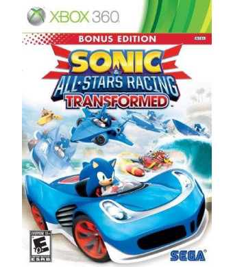 Sega Sonic and All-Stars Racing Transformed - Xbox 360